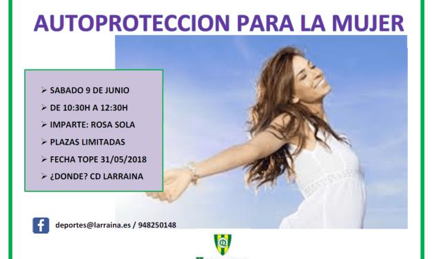JORNADA DE AUTOPROTECCIÓN PARA LA MUJER