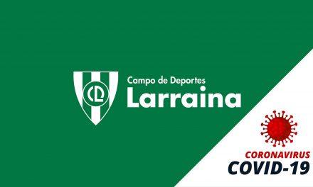 COMUNICADO A LOS SOCIOS DEL CLUB DEPORTIVO LARRAINA