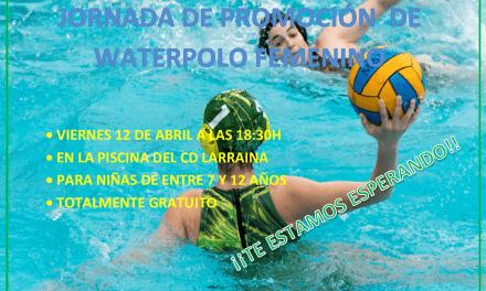 EL WATERPOLO FEMENINO ABRE SUS PUERTAS