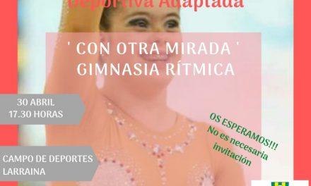 LARRAINA APUESTA POR LA INCLUSIÓN A TRAVÉS DE LA GIMNASIA RÍTMICA