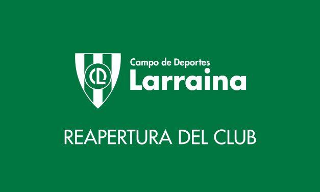 Reapertura del Club