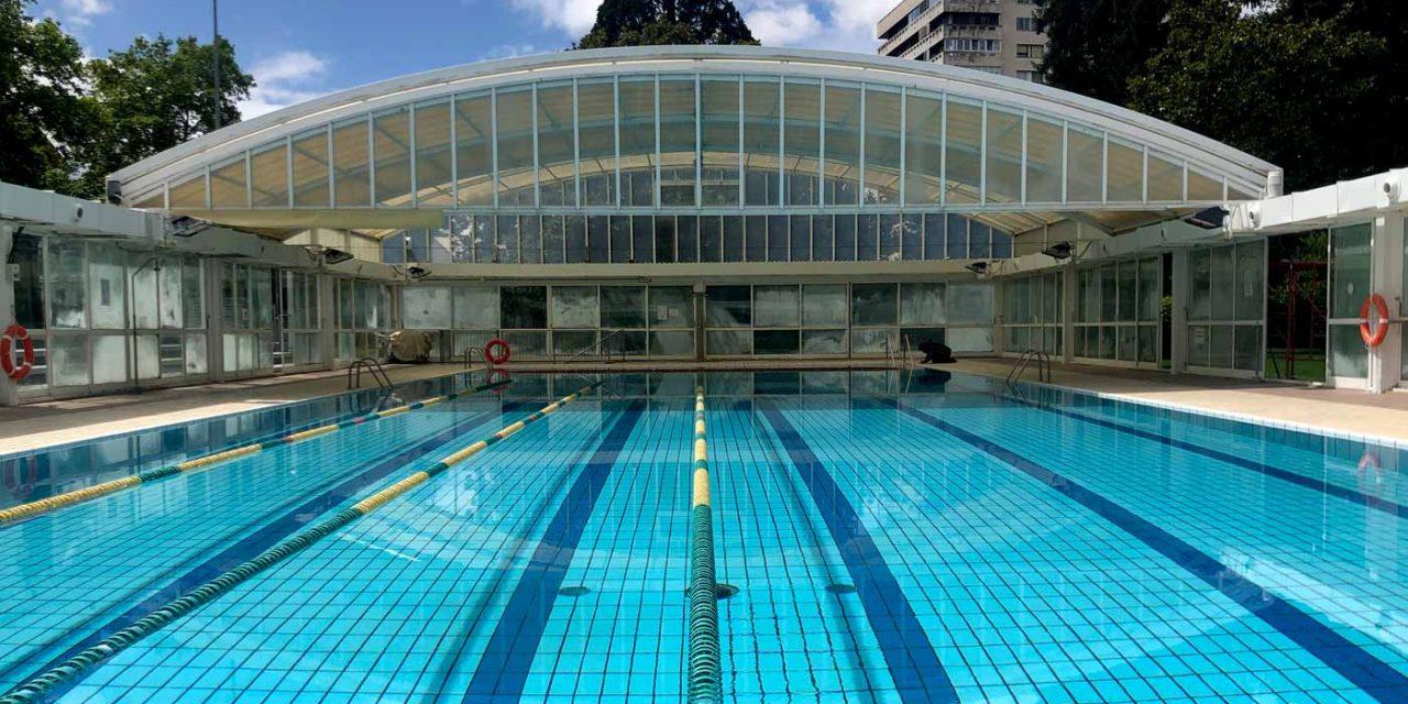 Inicio de la temporada de verano y apertura de la piscina