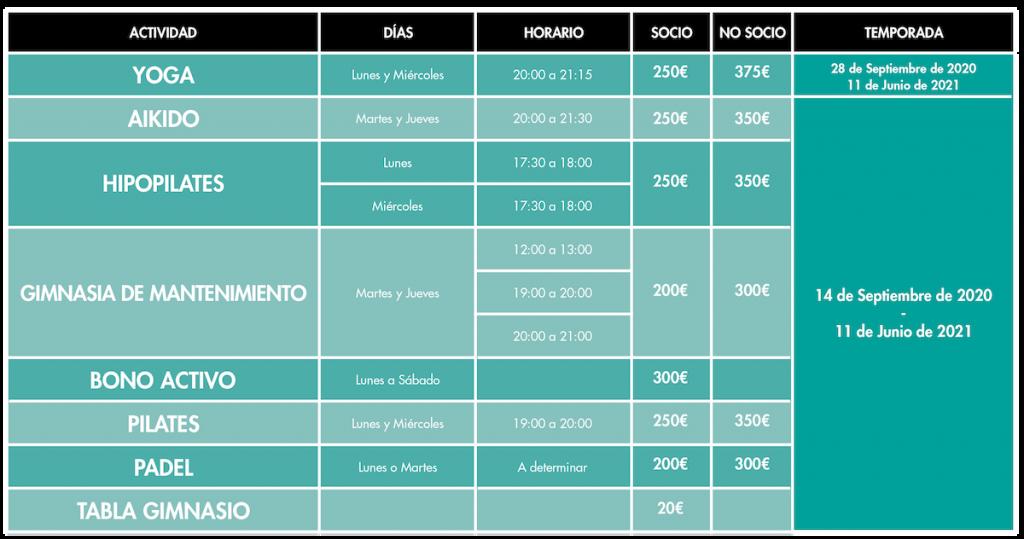 Actividades-secciones-larraina-pamplona-2020-2021