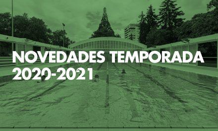 Novedades temporada 2020-2021