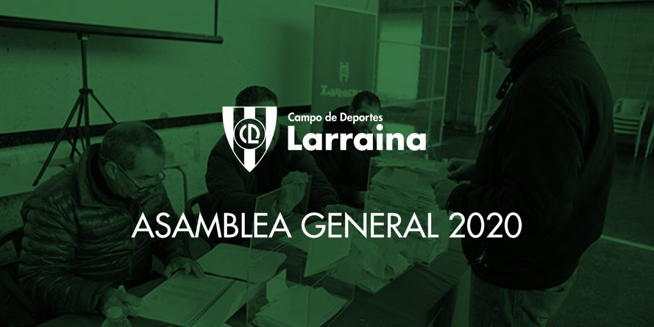 Convocatoria de la Asamblea General 2020 del club
