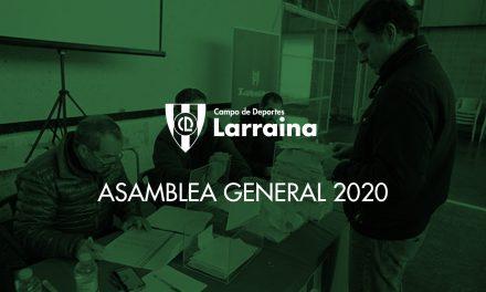 Convocatoria de la Asamblea General 2020 del club