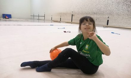 Nerea Díaz, primera navarra en participar en el Campeonato de España de Gimnasia Rítmica Adaptada