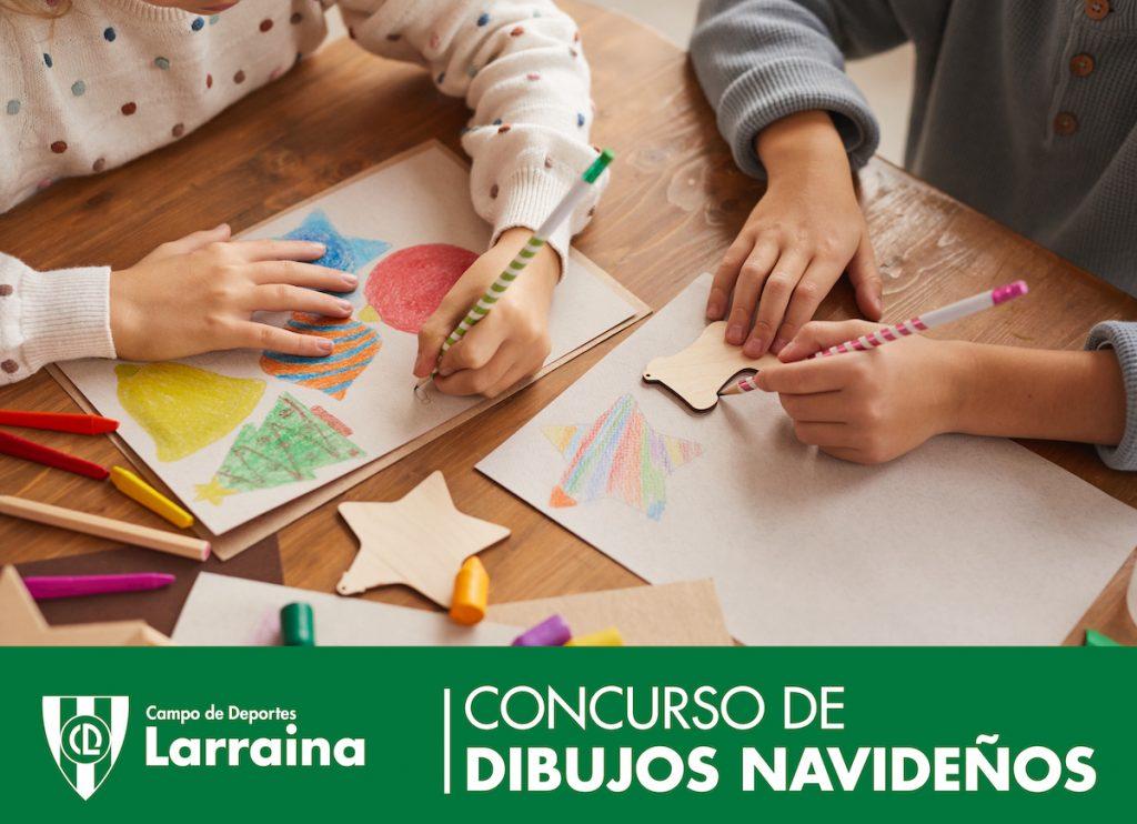 concurso-dibujos-navidad-larraina-2020
