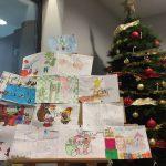 Ganadores del Concurso de dibujos navideños