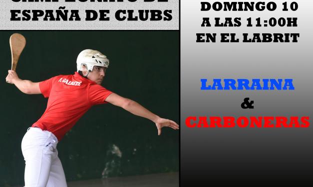 1º jornada del Campeonato de España de Herramienta (APLAZADO)