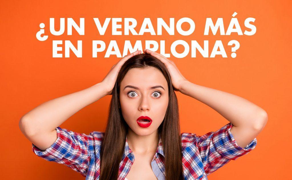 Imagen Promocional Chica ¿Un verano más en Pamplona?