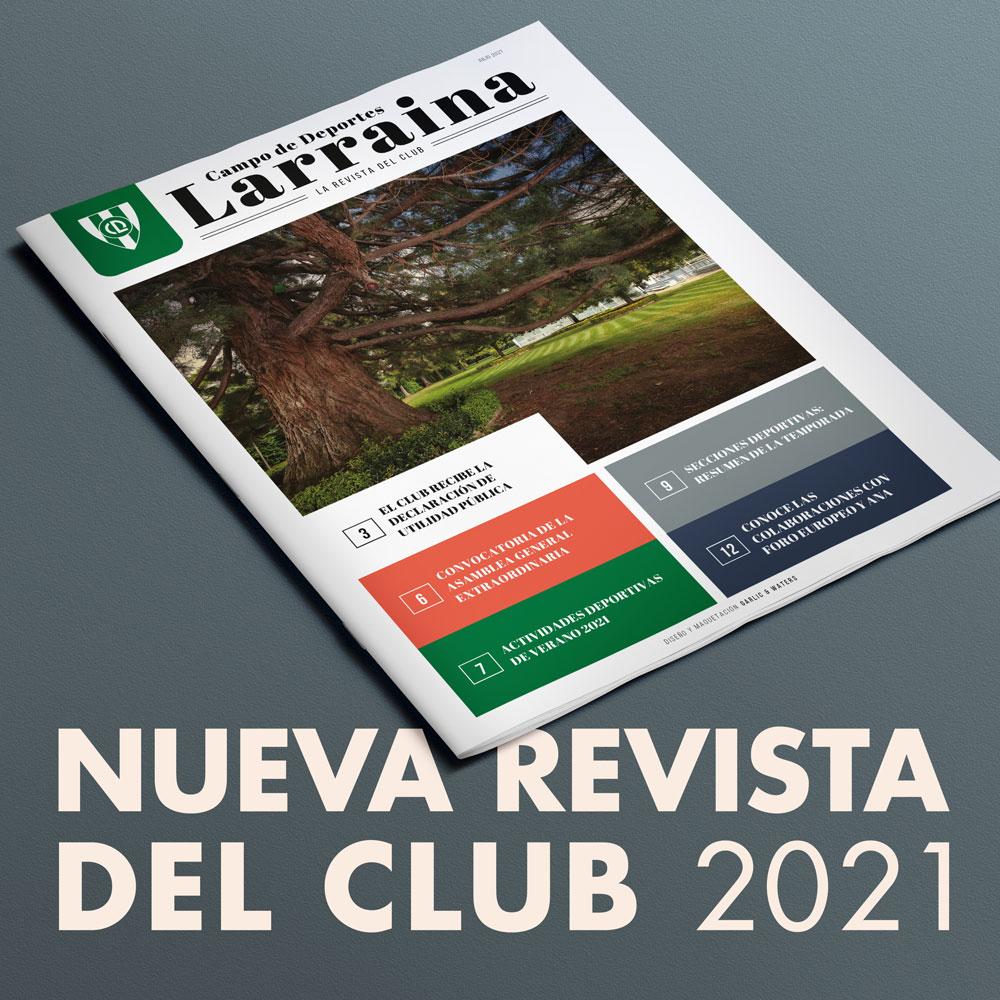 Revista Anual Larraina 2021