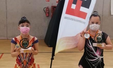 Nerea Díaz, campeona de España, y Andrea de Jesús, Plata